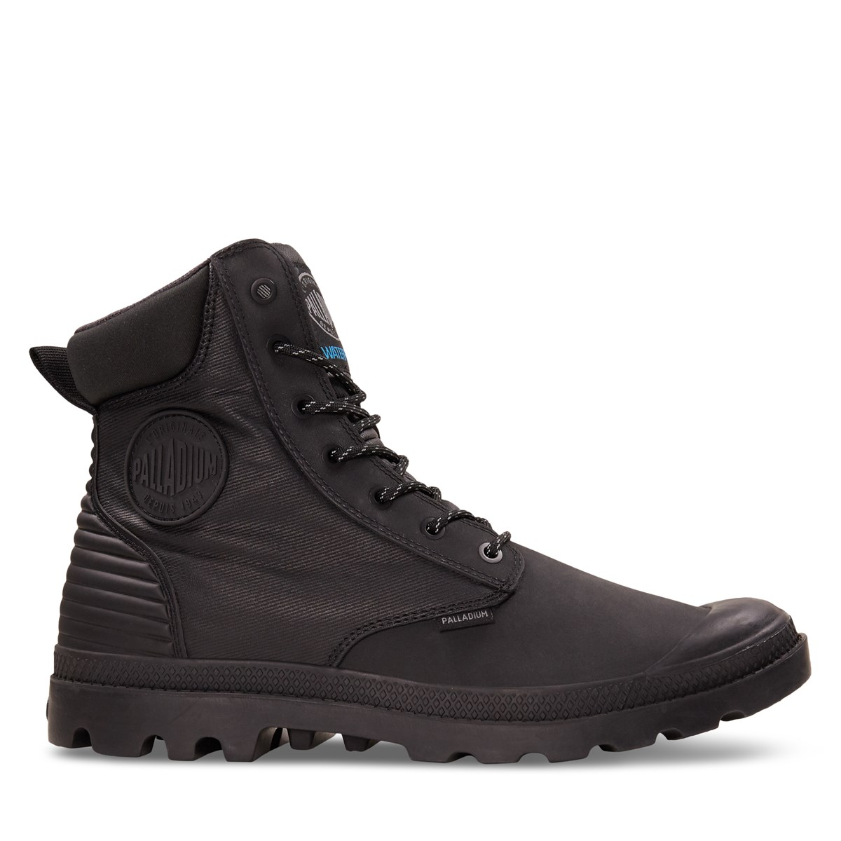 Men's Pampa SC Shadow WPR Boots in Black