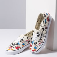 Women's Authentic Disney Sneakers in White