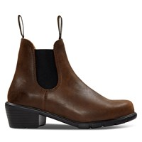 Women's 1673 Heeled Chelsea Boots in Brown