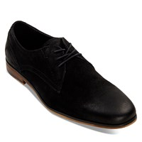 Men's Derby Shoe in Black
