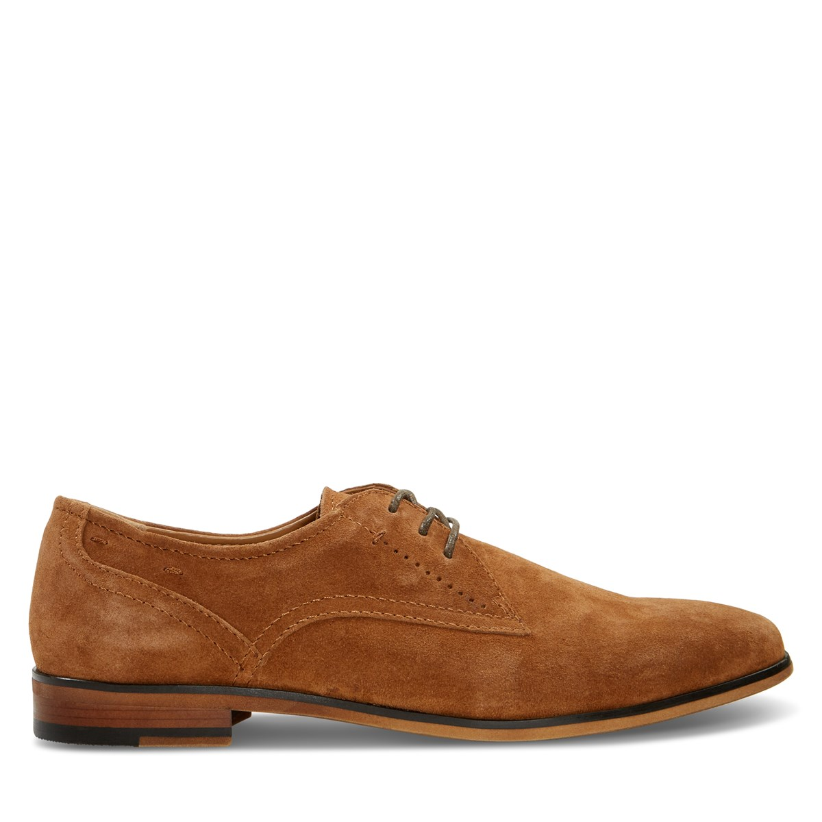 Men's Derby Shoe in Brown