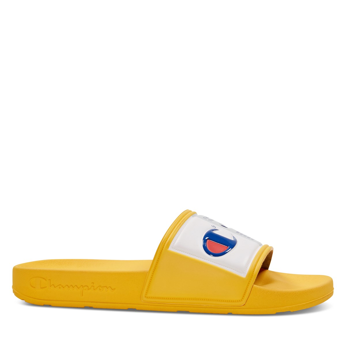 Men's IPO Jock Slides in Gold