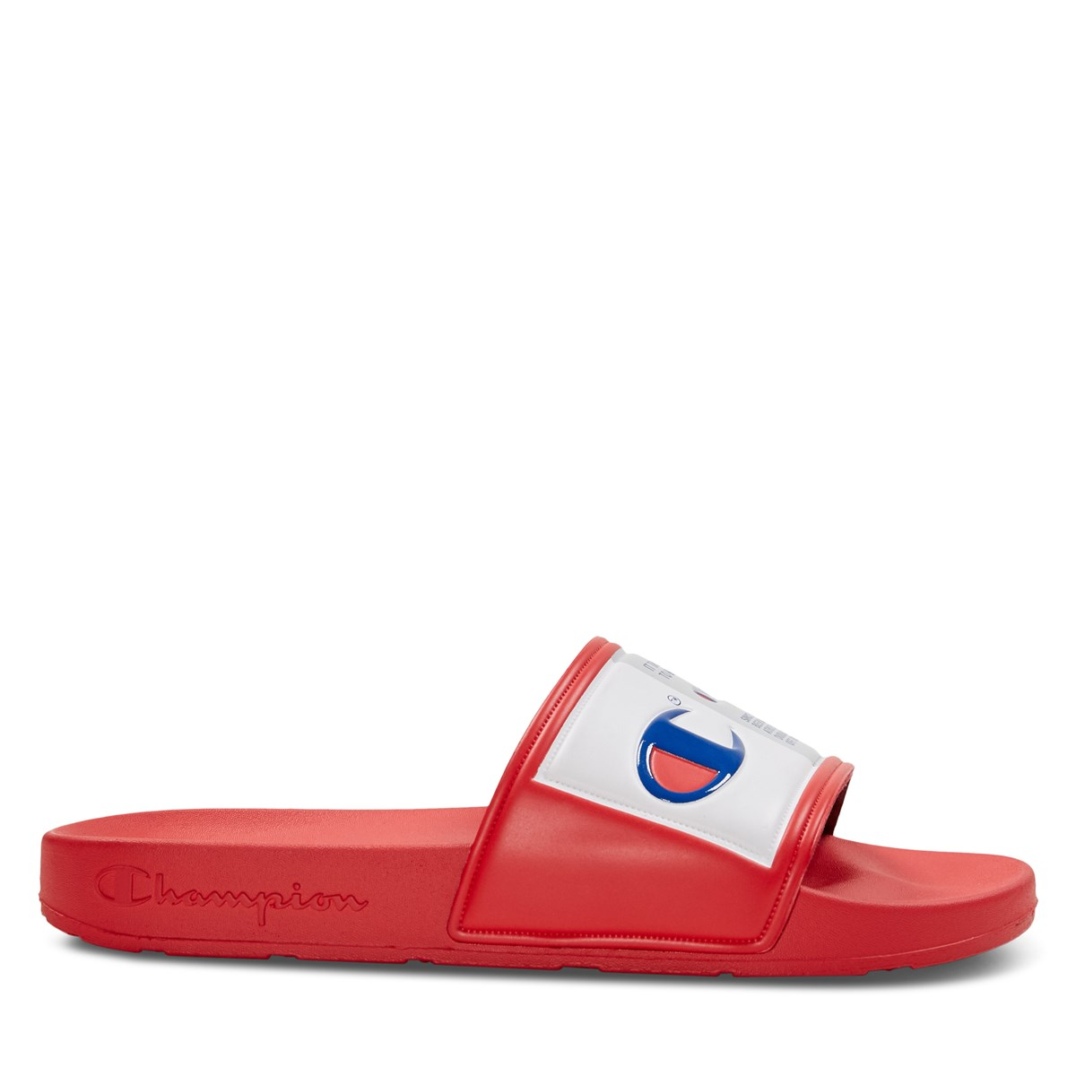 Women's IPO Jock Slides in Red