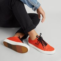 Men's Old Skool Space Voyager Sneaker in Orange