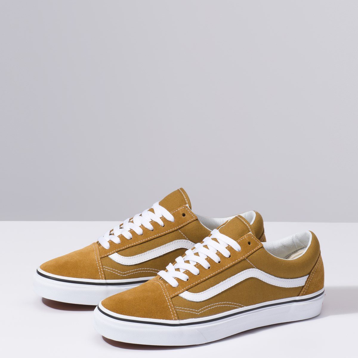 Men's Old Skool Sneaker in Mustard