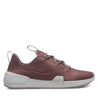 Women's Ashin Modern Leather Sneakers in Mauve