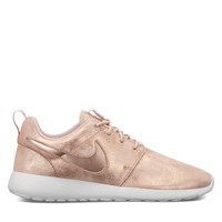 Women's Roshe One Premium Sneakers in Bronze