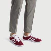 Men's Gazelle Sneaker in Burgundy