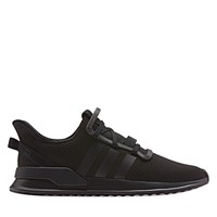Men's U Path Run Sneaker in Black