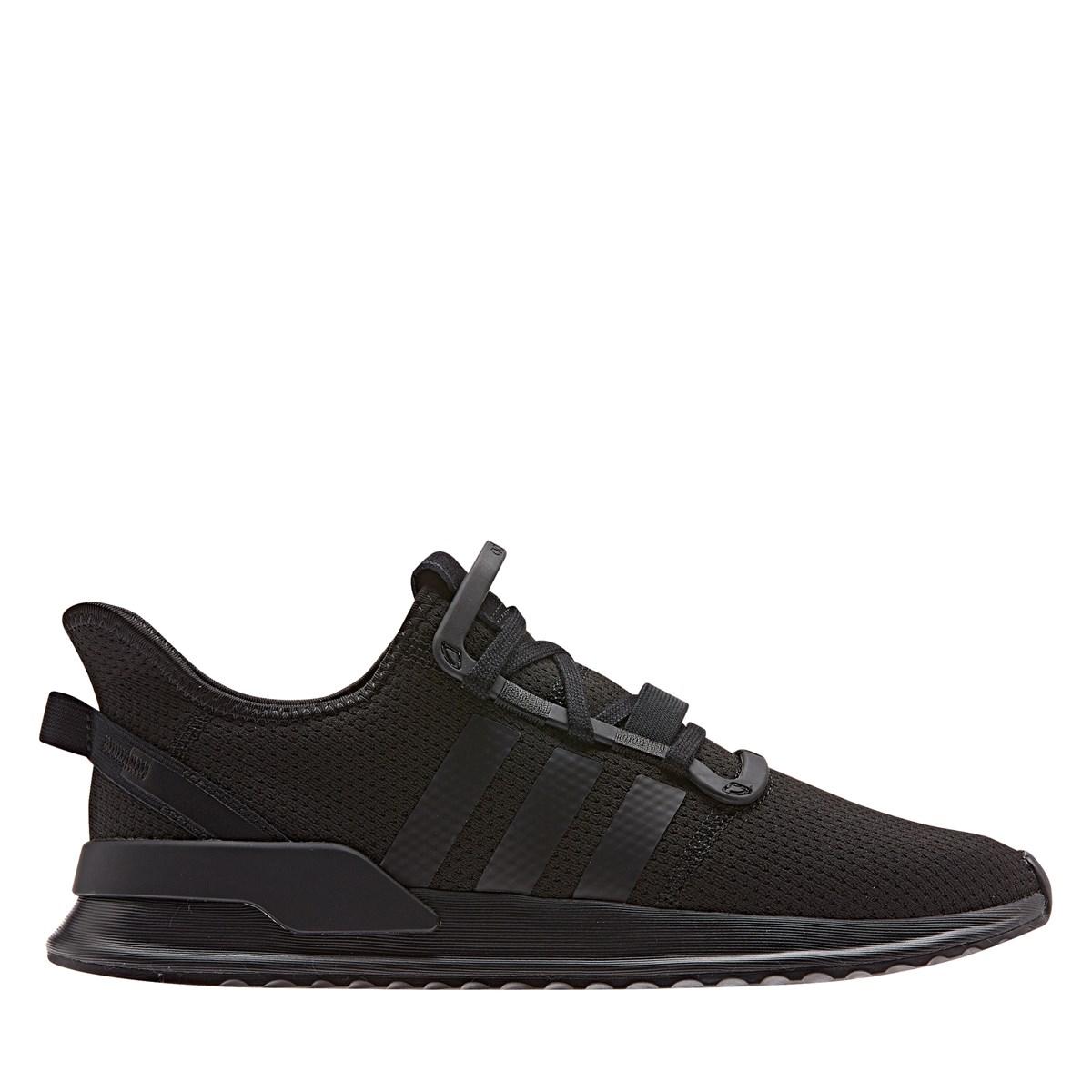 Men's U Path Run Sneaker in Black