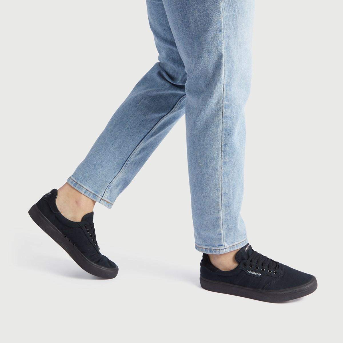Men's 3MC Vulc Sneakers in Black