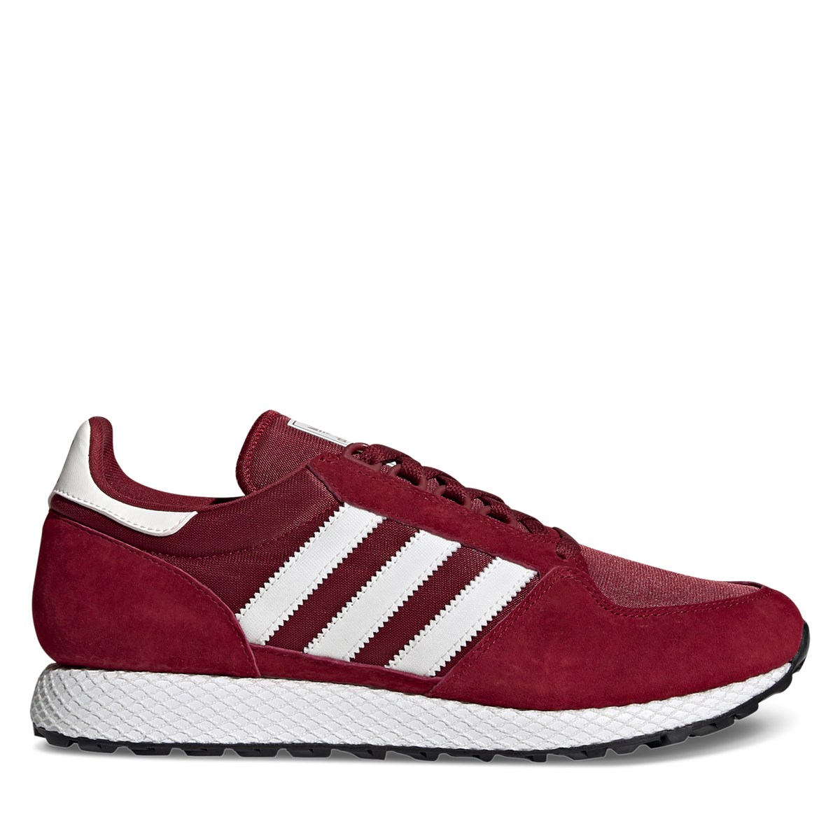Men's Forest Grove Sneakers in Burgundy