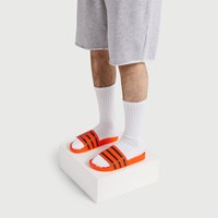 Men's Adilette Slide Sandal in Orange