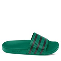official photos a9f8e 3ddbd Men s Adilette Slide Sandal in Green