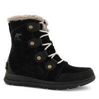 Women's Explorer Joan Boots in Black