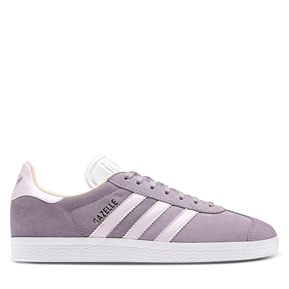 Women's Gazelle Sneakers in Light Purple
