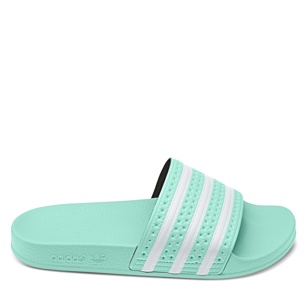 Women's Adilette Slides in Mint