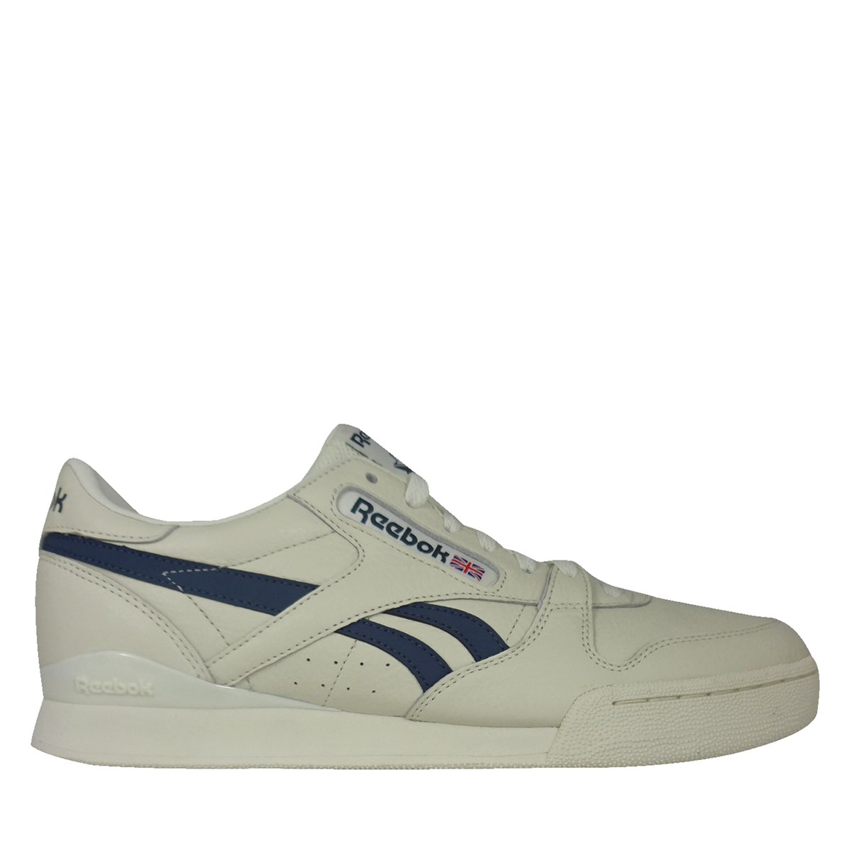 Men's Phase Pro Vintage Sneaker in Classic White