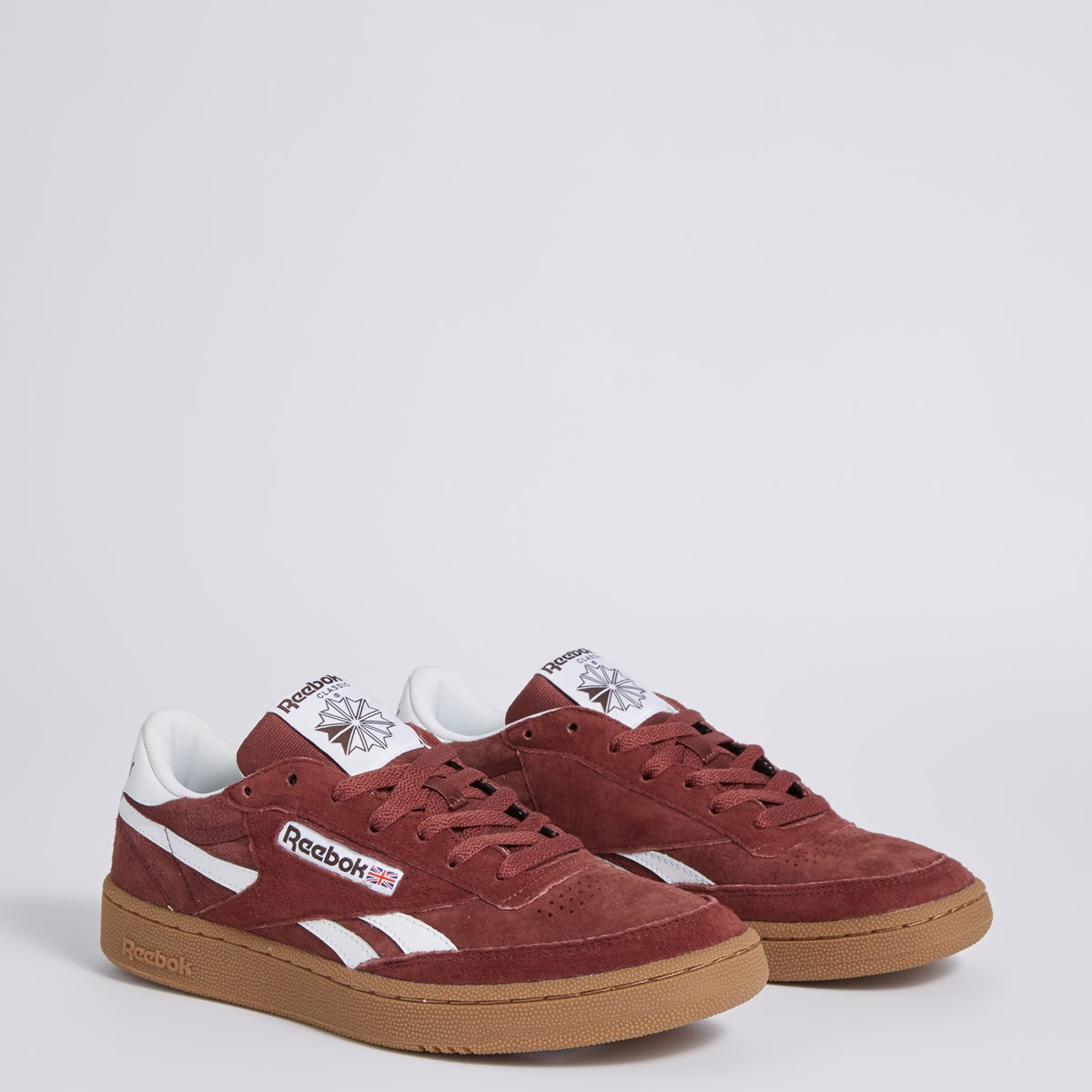 Men's Revenge Plus MU Sneaker in Burgundy
