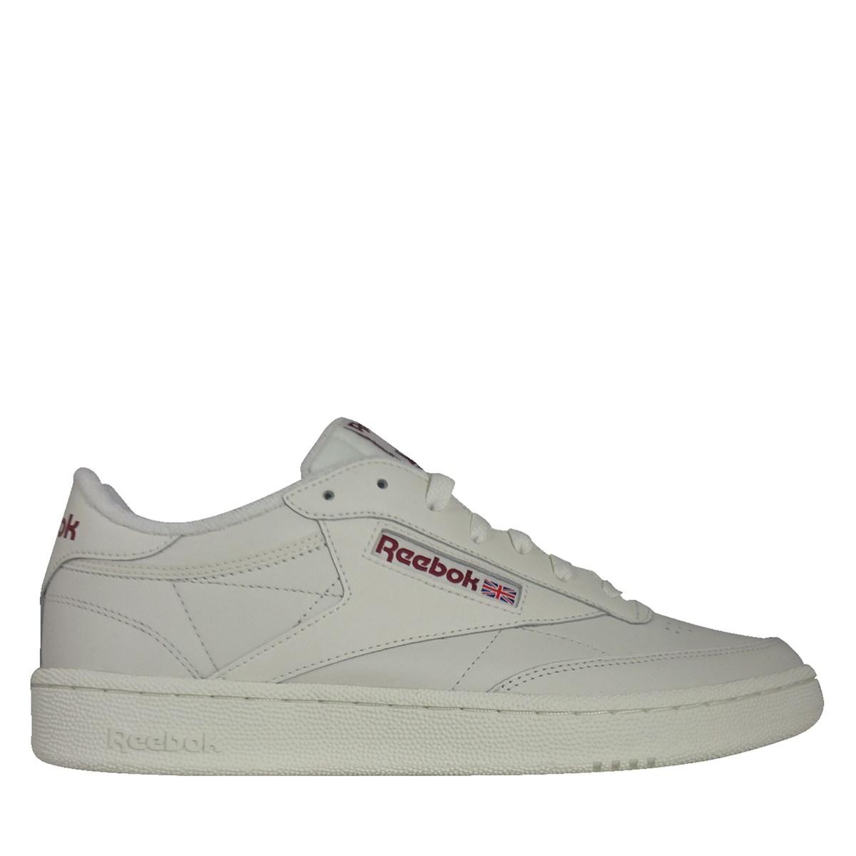 Men's Club C 85 Sneakers in White | Little Burgundy