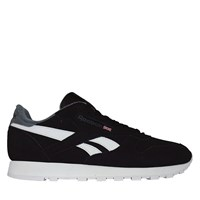 Men's Classic Leather Sneaker in Black Suede