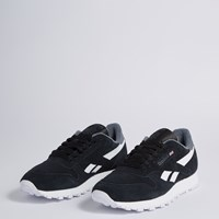 Men's Classic Sneaker in Black Suede