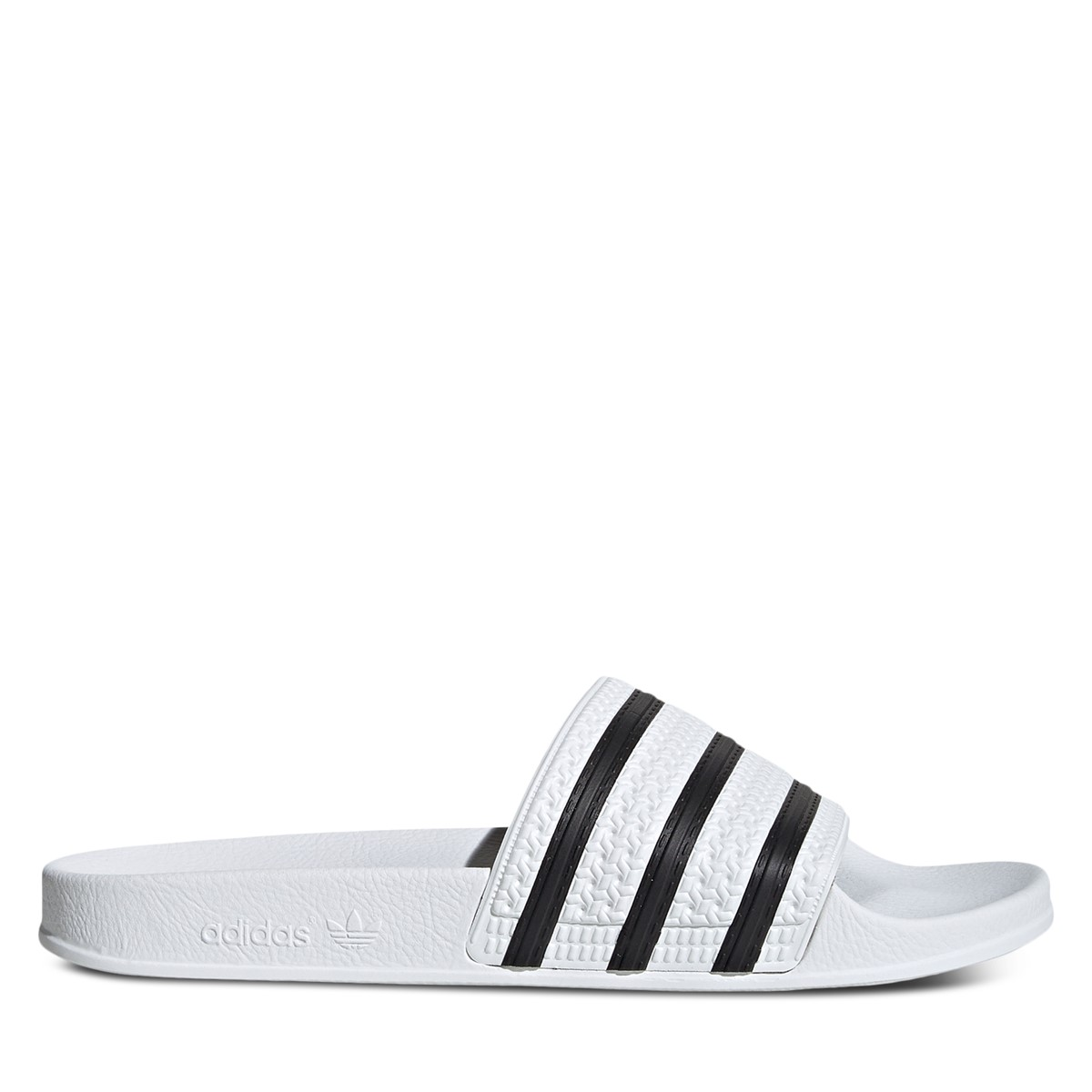 Adilette Slide in White