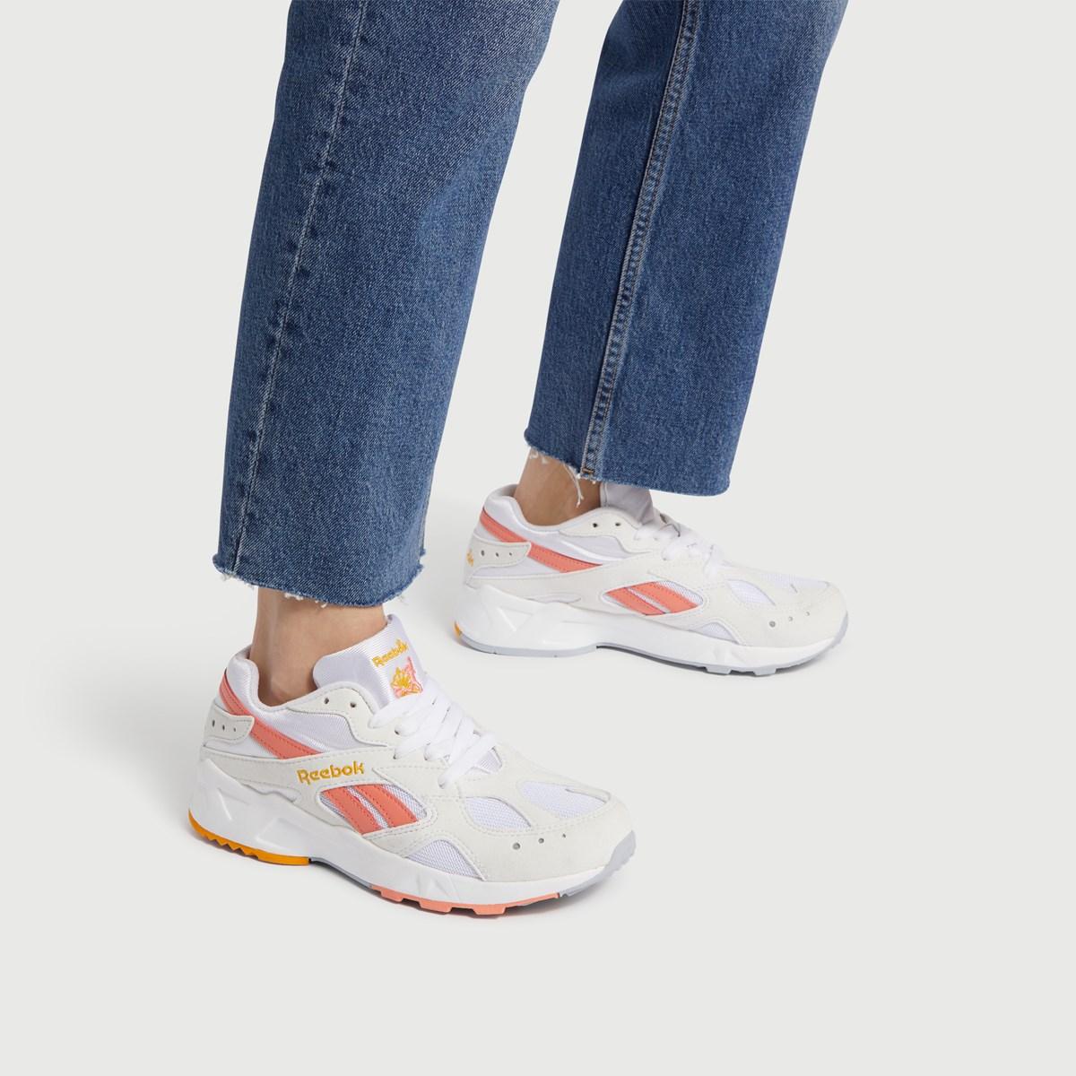 Women's Aztrek Sneaker in Peach