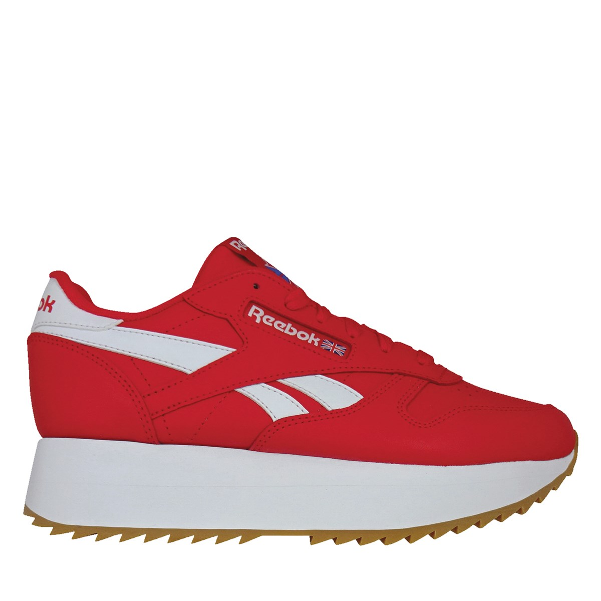 Women's Platform Sneakers in Red