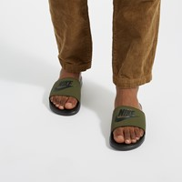 Men's Benassi Slides in Khaki