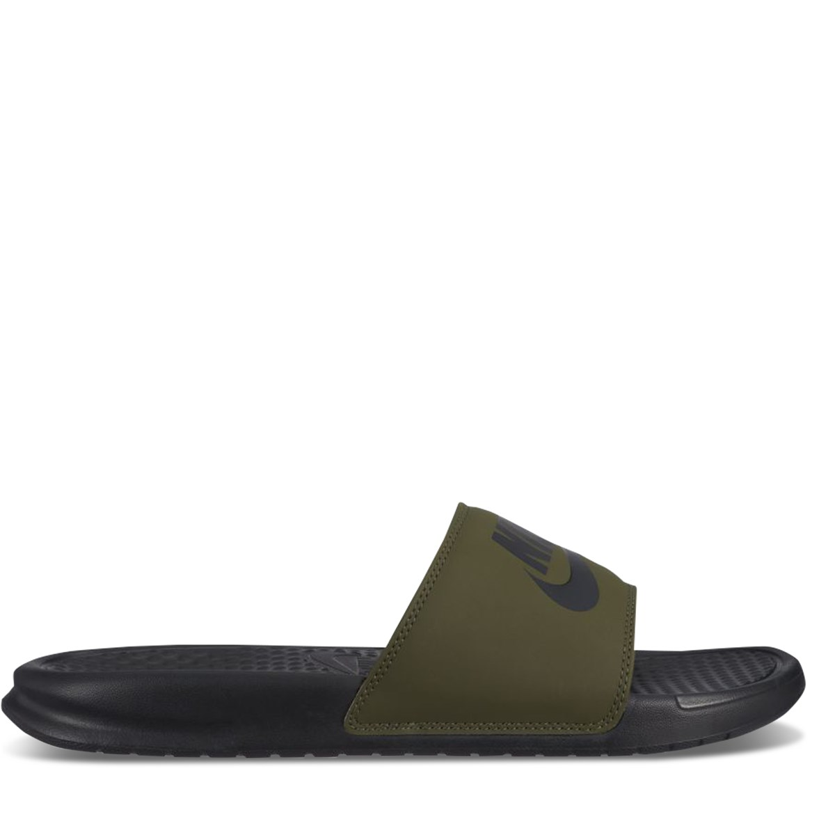 Men's Benassi Slide in Khaki