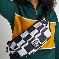 Dropout Sling Bag in Checkerboard