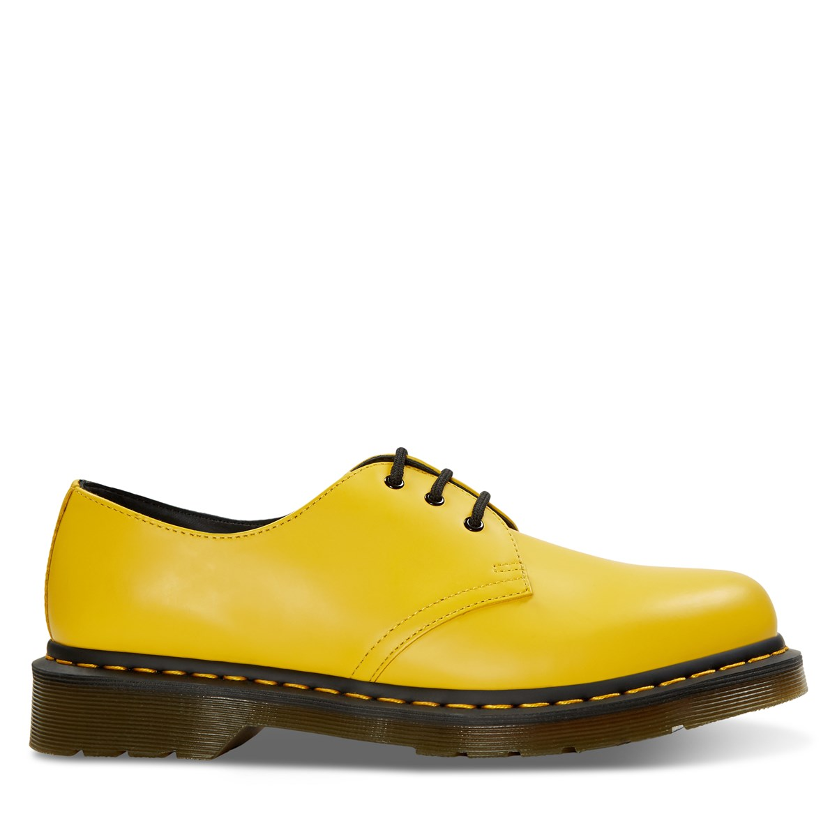 Women's Smooth 1461 Shoe in Yellow