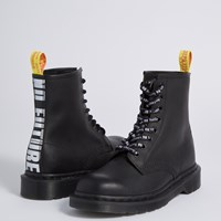 Women's 1460 SXP Greasy  Boots in Black