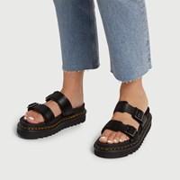 Women's Myles Sandal in Black