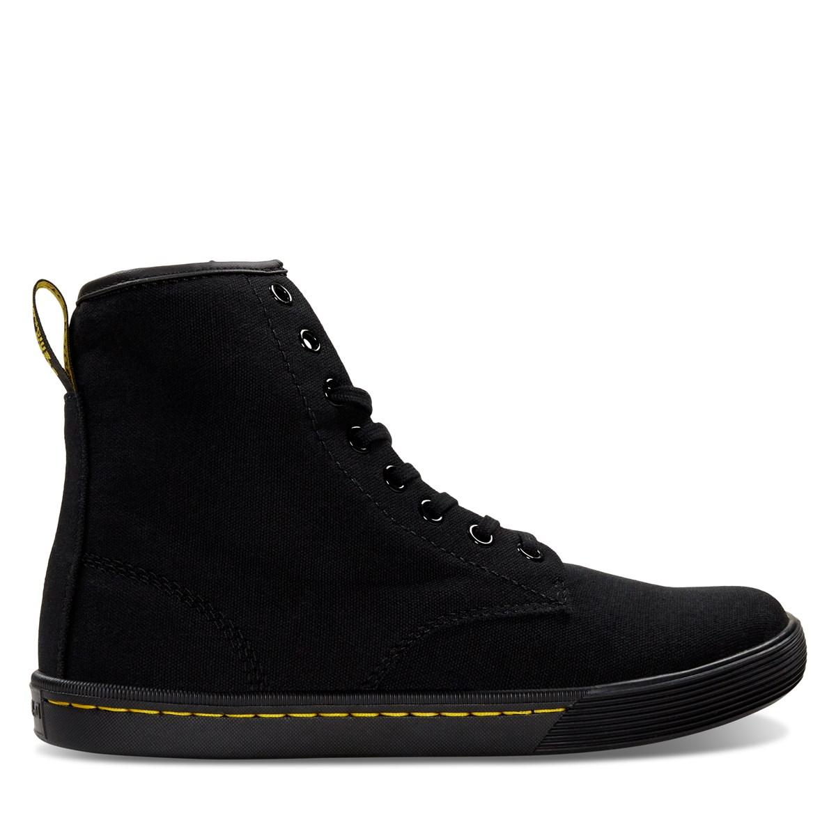 Women's Sheridan Canvas Boots in Black