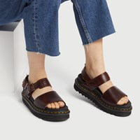 Women's Voss Brando Sandal in Burgundy