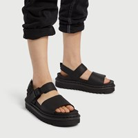 Women's Voss Hydro Platform Sandals in Black