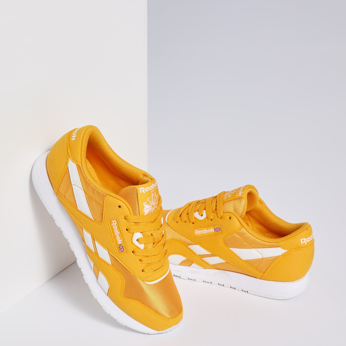 Women's Classic Nylon Sneakers in Yellow