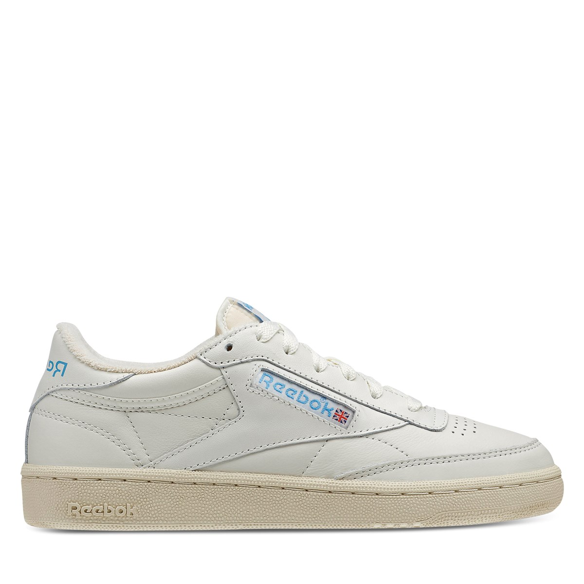 Women's Club C 85 Sneakers in Chalk/Blue