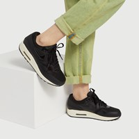 Women s Nike Air Max 1 Sneakers in Black 3ba5de865fb4