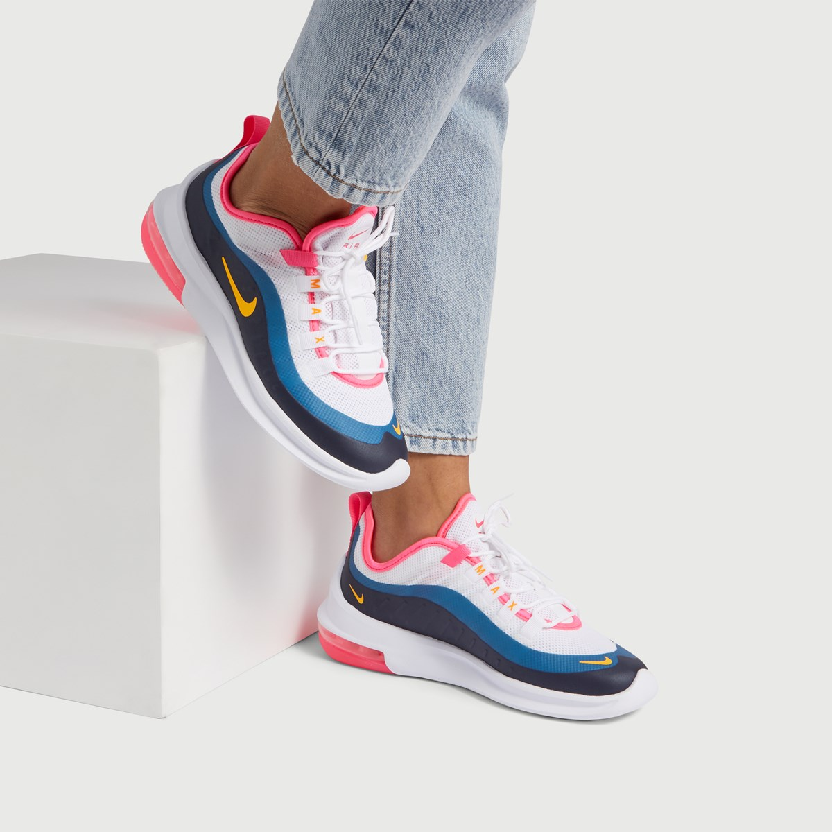 Women's Air Max Axis Sneakers in White