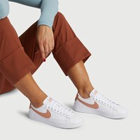Women's Blazer Sneakers in White