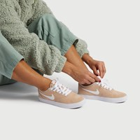 Women's SB Check Solarsoft Sneakers in Beige
