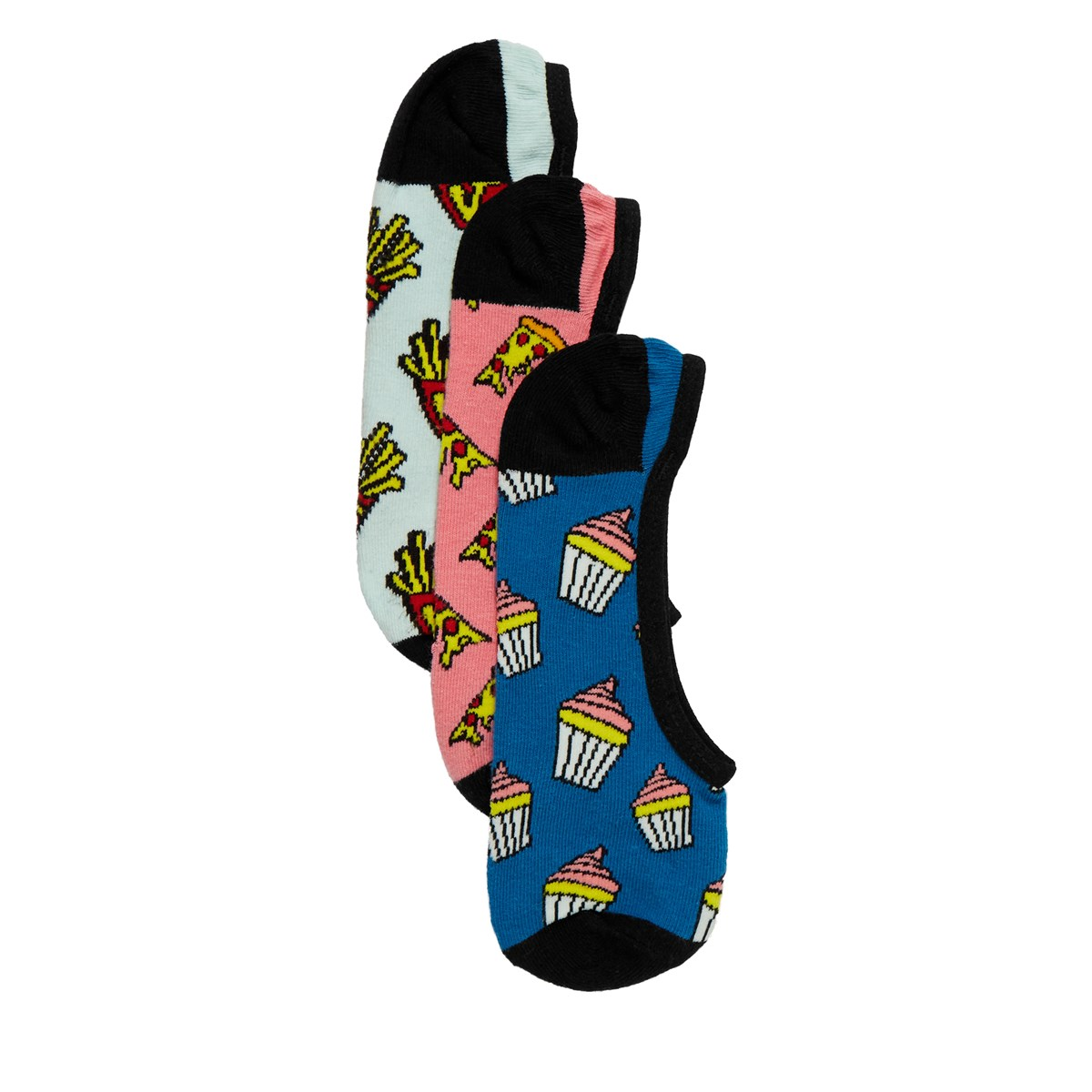 Women's 3 Pair Pack Munch Munch Canoodle Socks
