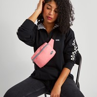 Burma Fanny Pack in Pink Checkerboard