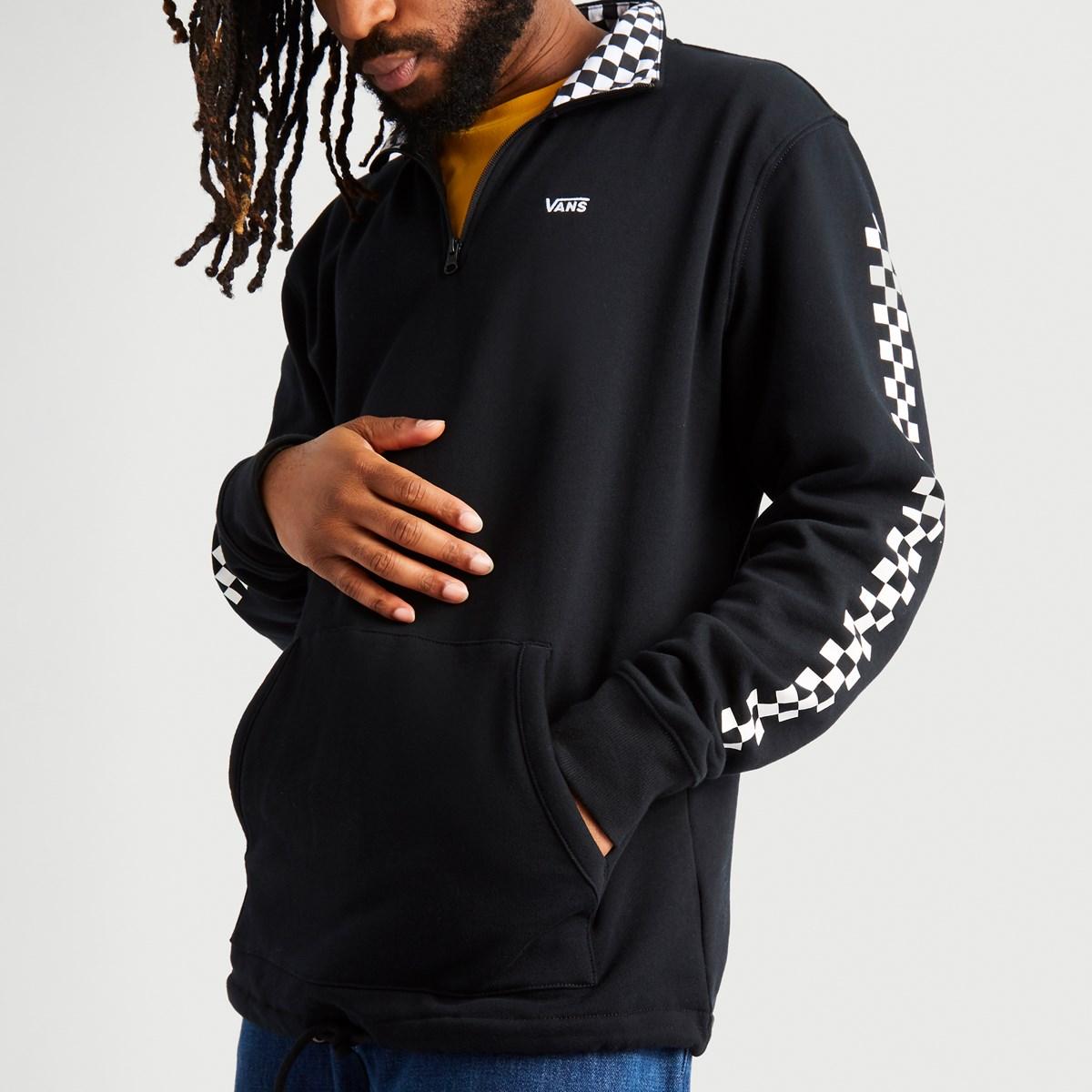 Men's Versa Quarter Zip in Black