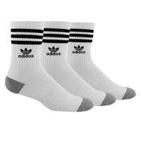 Men's 3 Pair Pack of Roller Crew Socks