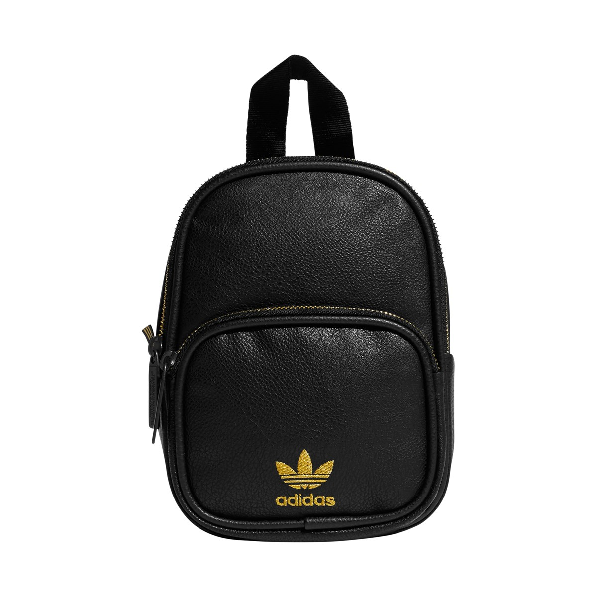 Originals Mini PU Leather Backpack in Black