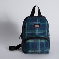 Mini Festival Bag in Navy Plaid